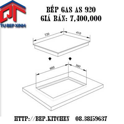 Bếp gas AS - 920