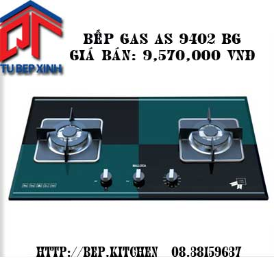 Bếp Gas-AS 9402GB +AS 9402b