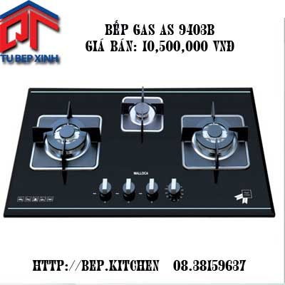 Bếp âm 3 gas AS-9403 - Tu Bep