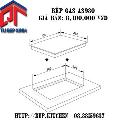 Bếp Gas-AS 930